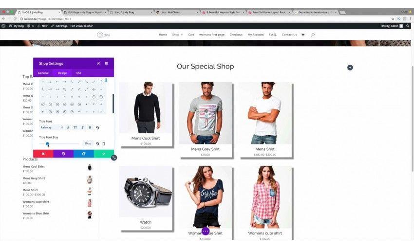 آموزش Udemy Create an eCommerce Wordpress Website 2016 - New Divi Theme! - فرین سافت