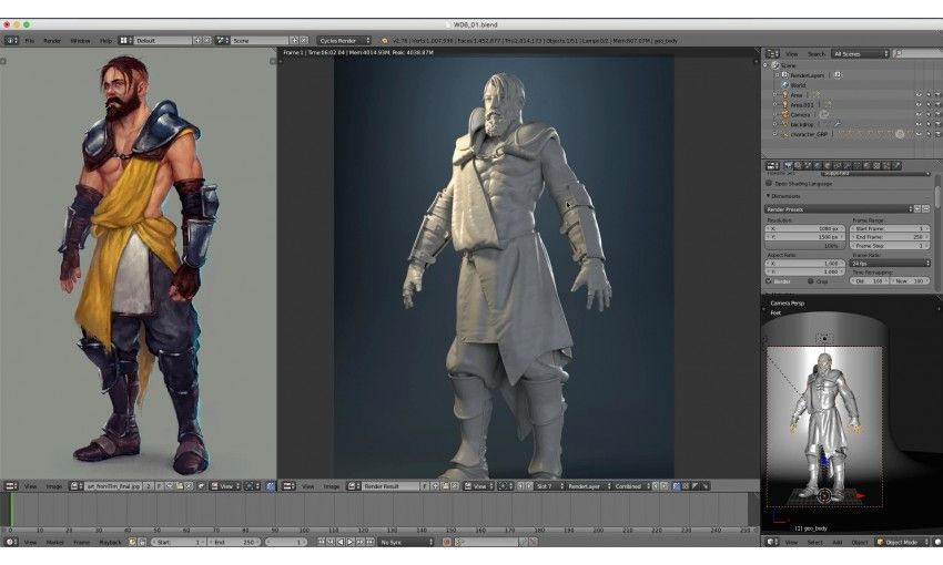 Realistic Character Modeling Blender : Cg cookie modeling realistic characters with blender