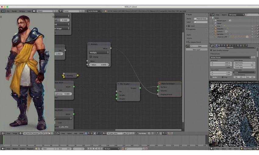 Blender Cookie Character Modeling : آموزش cg cookie modeling realistic characters with blender
