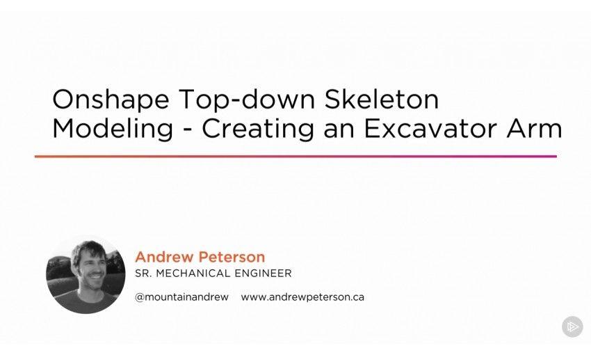 دانلود آموزش PluralSight Onshape Top-down Skeleton Modeling