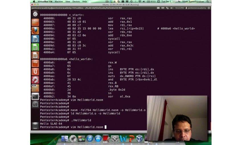 SLAE: Custom RBIX Shellcode Encoder/Decoder