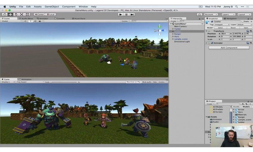 دانلود آموزش Udemy Unity Game Development Academy: Make 2D