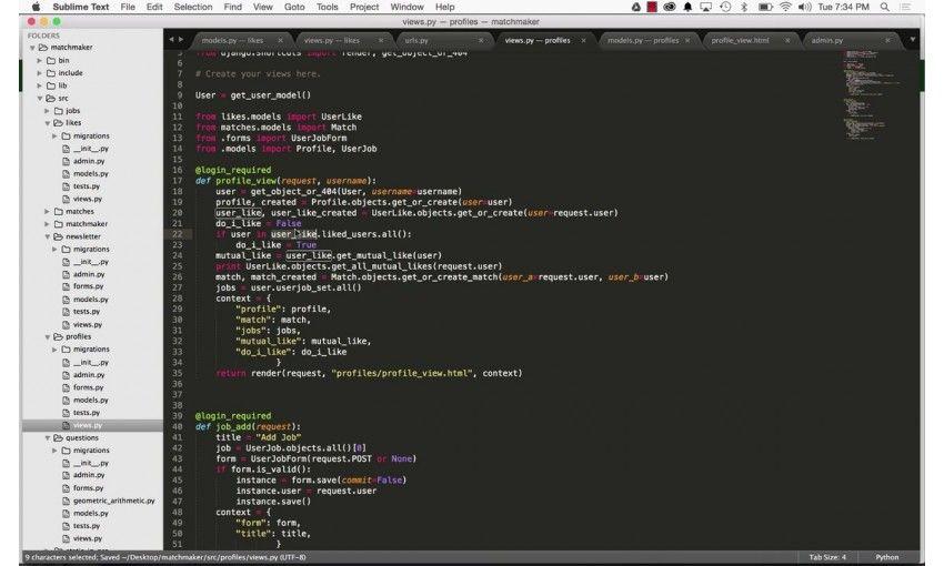 Python Programming: Build Matchmaking Website + Geolocator