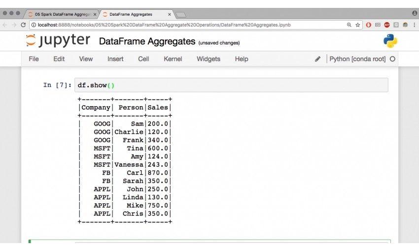 آموزش Infinite Skills Oreilly Analyzing Data Using Spark 2 ...