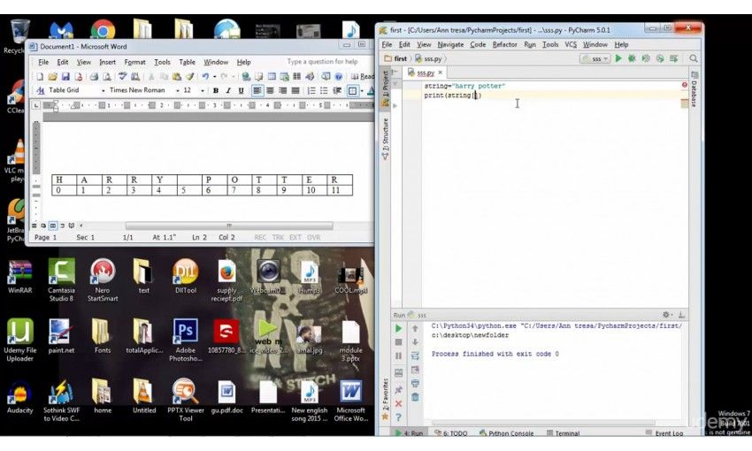 ��� udemy python programming tutorial for beginners