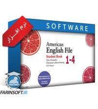 دوره کامل آموزش زبان American English File 1-4