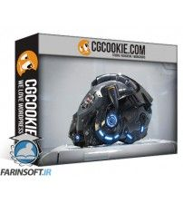 آموزش CG Cookie Shading the Sci-Fi Helmet