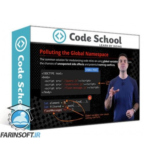 آموزش Code School ES2015: The Shape of JavaScript to Come