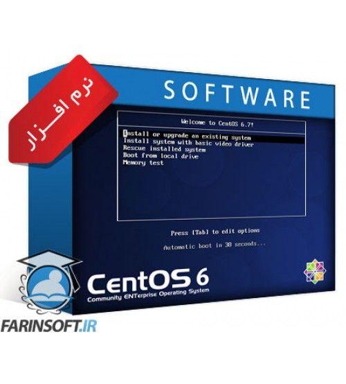 سیستم عامل CentOS 6.7 هر دو نسخه 32 و 64 بیتی