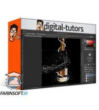 آموزش Digital Tutors Designing a Creative Print Shot in Photoshop