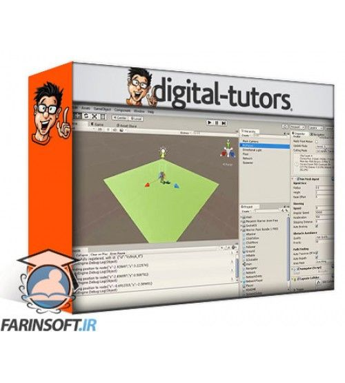 آموزش Digital Tutors Unity Multiplayer Game Development with Node