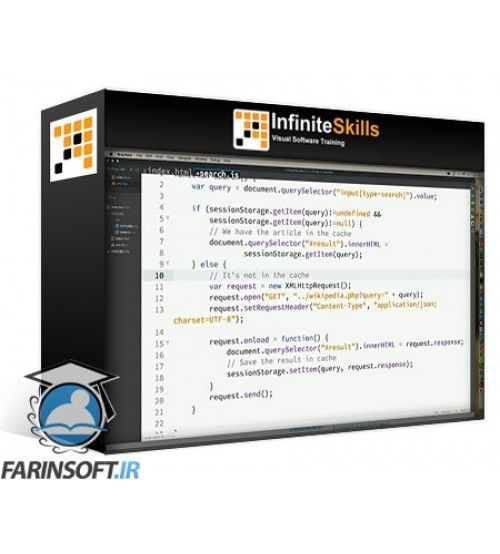 آموزش InfiniteSkills Offline Web Training Video