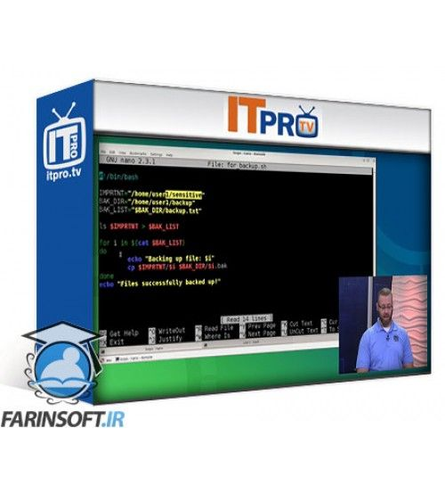 آموزش IT Pro TV Bash and Scripting - CLI
