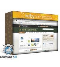 دانلود آموزش KelbyOne Website Walkthrough Using WordPress: From Start to Finish