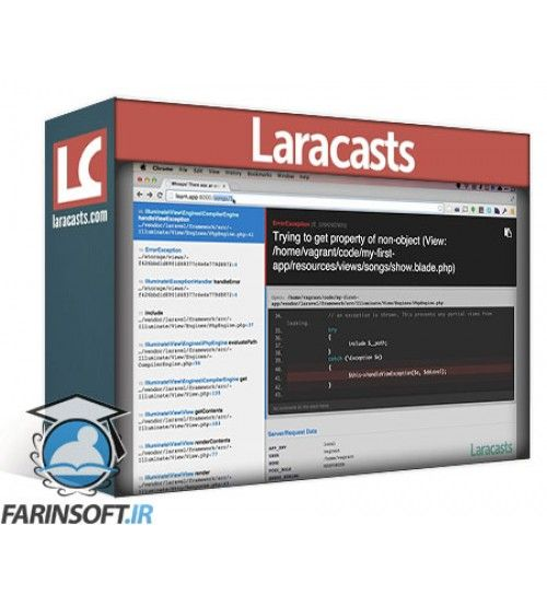 آموزش LaraCasts Laravel From Scratch