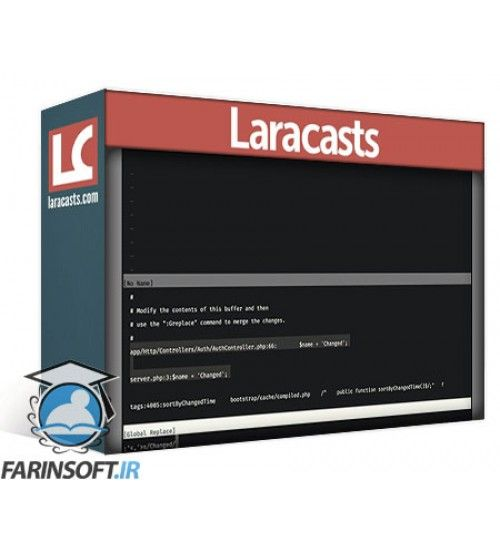دانلود آموزش LaraCasts Vim Mastery