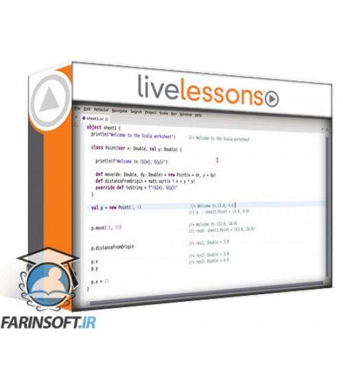 آموزش Live Lessons Scala for the Impatient