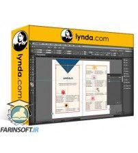 دانلود آموزش Lynda Creating an InDesign Booklet Using XML