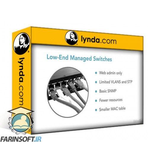 آموزش Lynda Foundations of Networking: Network Media (WANs)