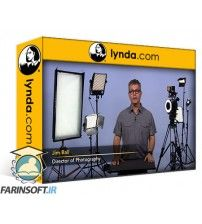 آموزش Lynda LED & Compact Video Lighting