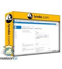 دانلود آموزش Lynda SharePoint 2013 Security for Users