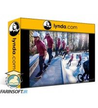 دانلود آموزش Lynda Shooting and Assembling a Sports Action Composite