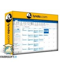 دانلود آموزش Lynda Time Management with Outlook 2016 Calendar and Tasks