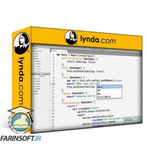 آموزش Lynda Lynda - Learn React.js - The Basics
