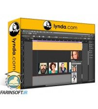 دانلود آموزش Lynda.com Building a Single-Page Website in Muse