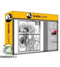 دانلود آموزش Lynda Comic Book Digital Inking And Refinement