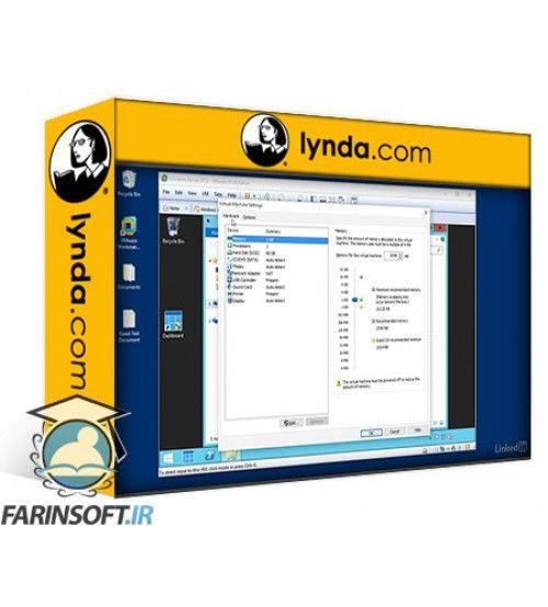 آموزش Lynda Learn VMware Workstation Pro 12: The Basics