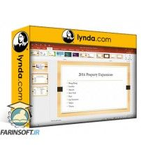 آموزش Lynda Learn PowerPoint for Office 365
