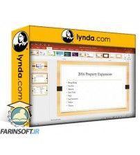 آموزش Lynda Learn PowerPoint for Office 365
