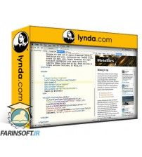 آموزش Lynda Design the Web: Add a Twitter Timeline