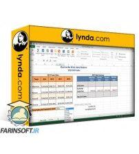 دانلود آموزش Lynda Excel 2013: Prepare for the Microsoft Office Specialist Certification Exam (77-420)