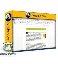 دانلود آموزش Lynda Word 2013: Prepare for the Microsoft Office Specialist Certification Exam (77-418)