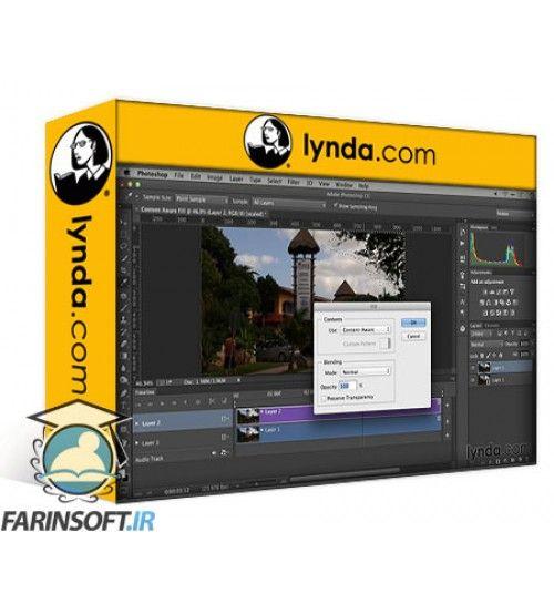 آموزش Lynda Repairing and Enhancing Video
