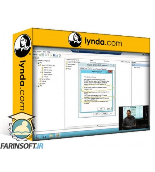 آموزش Lynda Windows Server 2012 Active Directory: Network Services