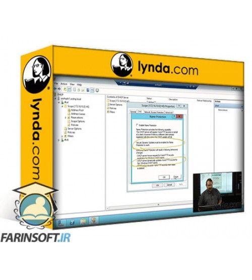 آموزش Lynda Windows Server 2012 Active Directory: Network Services