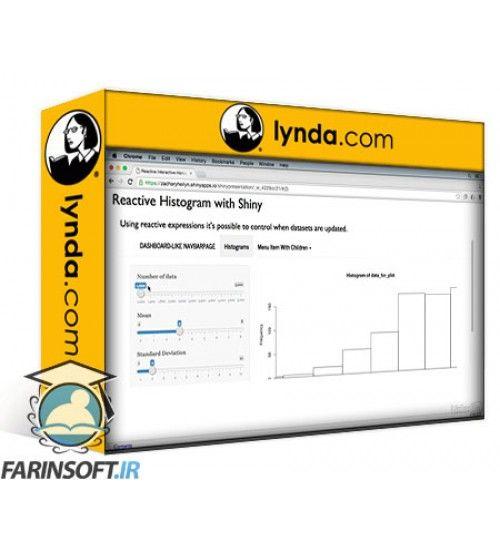 آموزش Lynda Creating Interactive Presentations with Shiny and R
