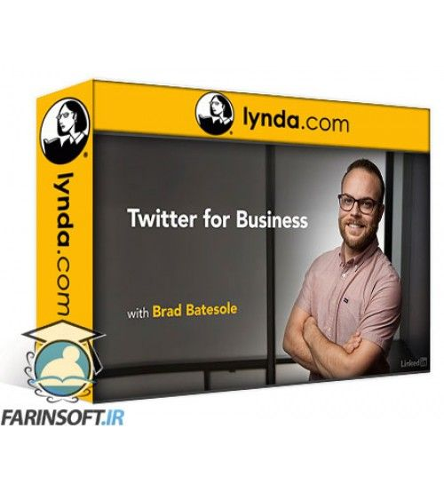 آموزش Lynda Twitter for Business 2016