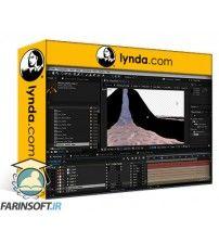 آموزش Lynda After Effects Motion Graphics: Creating Fire and Brimstone Type Animation