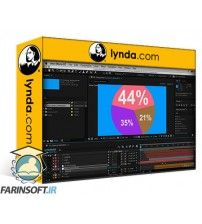 دانلود آموزش Lynda After Effects Guru Animating Infographics