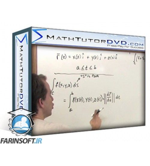 آموزش MathTutorDVD The Calculus 3 Tutor: Volume 1-2