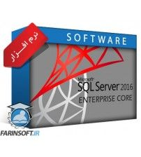 نرم افزار SQL Server 2016 Enterprise Core X64