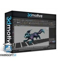 دانلود آموزش 3D Motive Quadruped Run Cycle in Maya