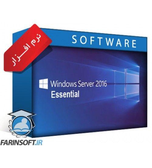 سیستم عامل Microsoft Windows Server Essential 2016