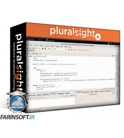 آموزش PluralSight Network Penetration Testing Using Python and Kali Linux