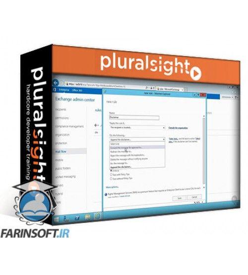 آموزش PluralSight Exchange Server 2016 Recipient Administration