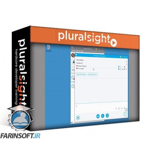 آموزش PluralSight Using Skype for Business